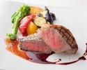 【ランチ】4,200円 国産牛ステーキのランチセット