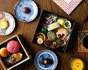 【12時30分~】京都老舗菓子司とのコラボレーション「和のアフタヌーンティー」