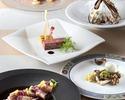 9・10月【フリードリンク付】 前菜2品含む全6品プリフィクスディナー!