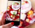 ⑭大切な人のお祝いに♪花畑のホールケーキ&全4種のお食事付き★選べるチョイス料理に乾杯ドリンク付き!