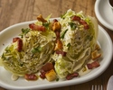 Iceberg Wedge, Blue Cheese Dressing, Bacon Chunks, Croutons