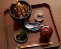 【ランチ】天丼+ウエルカムドリンク付き