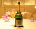 【WEB限定プラン】グラスシャンパン付、人気のお魚とお肉が楽しめる豪華フルコースランチ