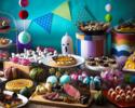 [7~12years old/Prepaid] SOCO Halloween Sweets a-la-carte Buffet Dinner