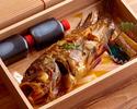 地魚の煮つけ   (器ご返却の場合500円ご返金致します)