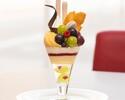 [September] Various Okayama grape and peach parfaits