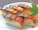 テイクアウト商品【焼き鯖の棒寿司】※6貫