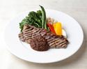 【デリバリー】牛サーロインステーキとグリル野菜