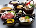 【土日祝:昼食】 瓢箪御膳(ひょうたんごぜん)『季節の小鍋付き』