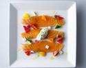 10/1~31期間 MIKUNIランチプリフィクス 7260円税サ込 (前菜+スープ+メインディッシュ+スイーツ+食後のお飲み物)