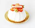 Strawberry Whole Short cake 15cm