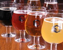 クラフトビールと 生ビールが 全て飲み放題!