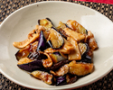 Eggplant stewed in soy sauce