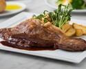 国産牛サーロインステーキ200g ポテトと季節の温野菜添え ランチセット