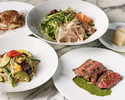 【Weekday Lunch】Italian salad + Pasta + Main + Dessert & cafe