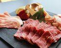 『インドアBBQランチ(Aセット)』雄大な眺望と美味しいお肉を堪能!手ぶらで楽しめるBBQ