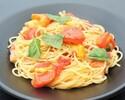 【Takeout】ベーコンとフレッシュトマト、バジルのスパゲッティ