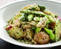 『NEW』期間限定で!平日ランチ大人気の牛ハラミステーキと秋野菜のローカルグリーンサラダで予約!