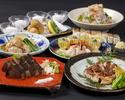 【初夏プラン】鰹の藁焼き、冬瓜の冷製、四万十鶏もも肉など全10品 土佐漫遊コース【お食事のみ】