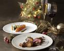 【12/24~26】 Christmas Dinner B<乾杯用ドンペリニヨン付>(18:00/20:30)