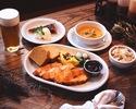 Thanksgiving Dinner Course, Bar Counter Seat