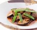 【近江牛ランチ】ふかひれの土鍋ご飯に近江牛のオイスターソース炒め全7品+1ドリンク