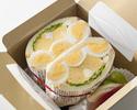 【事前決済TAKE OUT 萌え断サンドウィッチBOX】3種のたまごサンドウィッチ