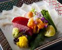 【ご昼食】とらふぐと黒毛和牛会席 8,500円 2月末日まで