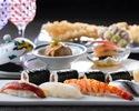 古き良き江戸の味と文化を楽しむ ~お台場大江戸台旬彩~ 寿司カウンター