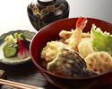 魚介と野菜の盛り合わせ丼