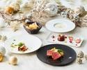 【★贅沢Xmas2020★】特製トナカイデザート付き!選べる前菜・パスタ・選べる肉料理など大満足の全5皿