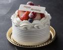 【事前決済】 10cm ストロベリーショートケーキ