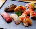 寿司と黒毛和牛会席 8,800円