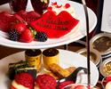 ☆Rouge アフタヌーンティー☆『リップクッキー』茶葉変更OK&紅茶おかわり自由☆記念日利用に是非!