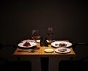 ソムリエが厳選したトリュフ産地のワインの数々と季節食材を盛り込んだペアリング ディナーコース