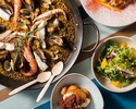 【Weekday Lunch】 Booking for paella lunch course with free flow drinks for 2 hours