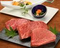 ≪鉄板焼≫特選銘柄牛ランチコース(山形牛サーロイン)