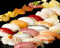 ソフトドリンク1杯無料!高級寿司食べ放題