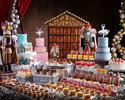 【Weekend】Nutscracker Sweets Buffet  With a glass of champagne(Dec.18-Jan.7)