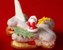 2020年 クリスマスケーキ 人気の『飛行機シュ-クリスマスVer』