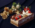 2020年 クリスマスケーキ 『ピスト・ド・ノエル ~クリスマスの滑走路』