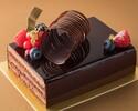 Moelle ux au chocolat amer et grué de cacao