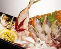 11.12月ランチ釣りコース(魚釣りチケット2枚付き)