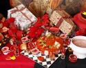 【11~12月】【土曜限定】ハートの女王の為のクリスマスパーティデザートビュッフェ