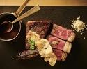 【お料理5品コース】サラダ、前菜、メイン、デザートをお選びいただく全5品+コーヒーまたは紅茶