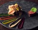 シェフのスペシャリテ《野菜 魚介 パフェ付》Dinner Haru-ディナー ハル-