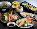 かに天ぷらとかにすき膳