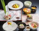 【ランチ・ディナー】料理長おまかせ会席「匠(たくみ)」<特別な日に>