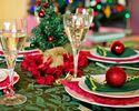 【12/19-25 限定!】クリスマス ランチコース※食後のコーヒーor紅茶付き