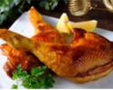 京赤地鶏モモ肉骨付きロースト(2本・約700g)/和風照り焼き